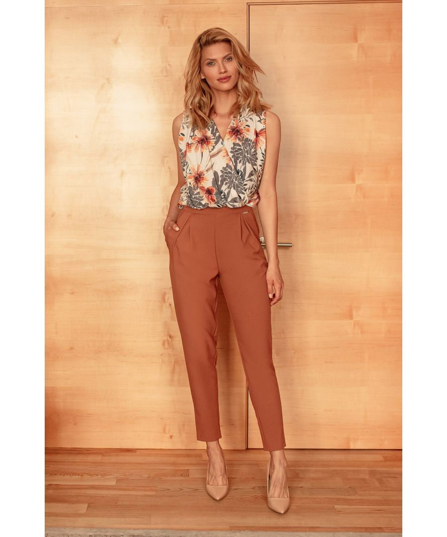 Image for Brown Classic Trousers