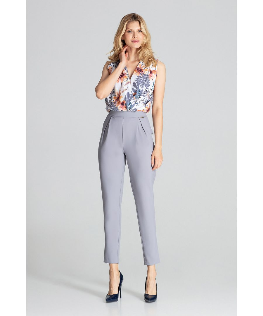 Image for Grey Classic Pants