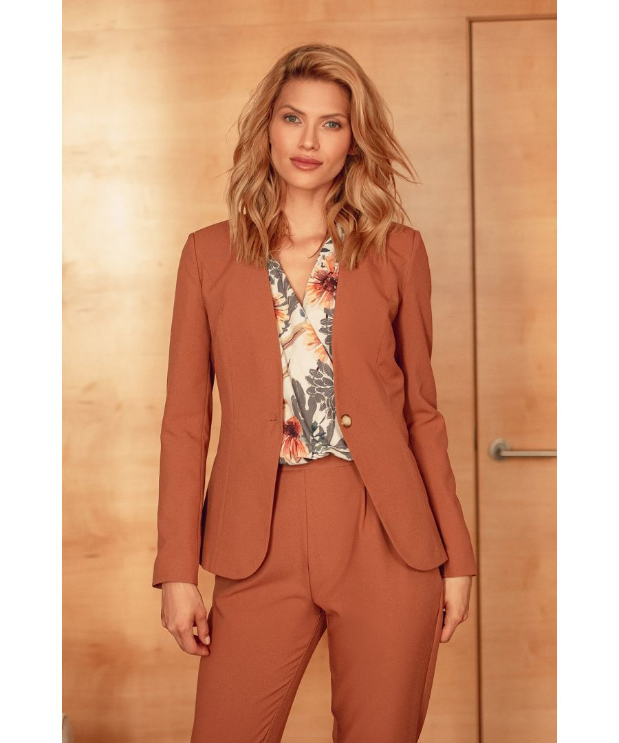 Image for Brown Classic Blazer Jacket