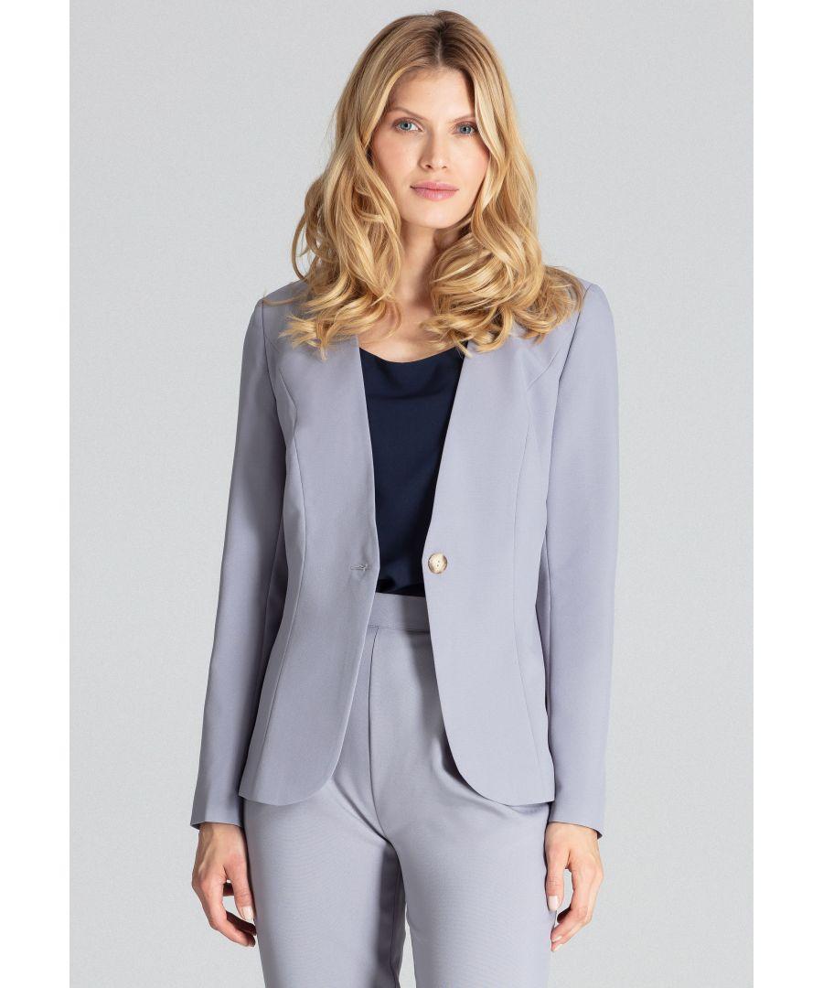 Image for Grey Classic Blazer