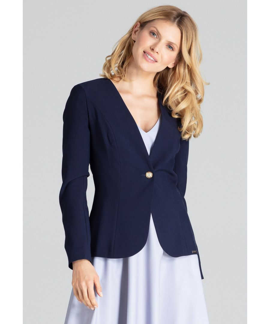 Image for Navy Classic Blazer Jacket