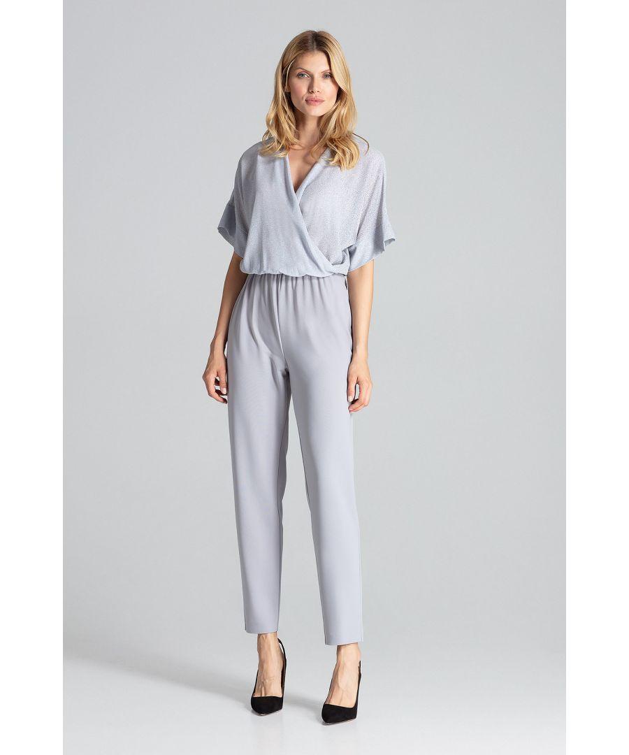 Image for Grey Elegant Jumpsuit