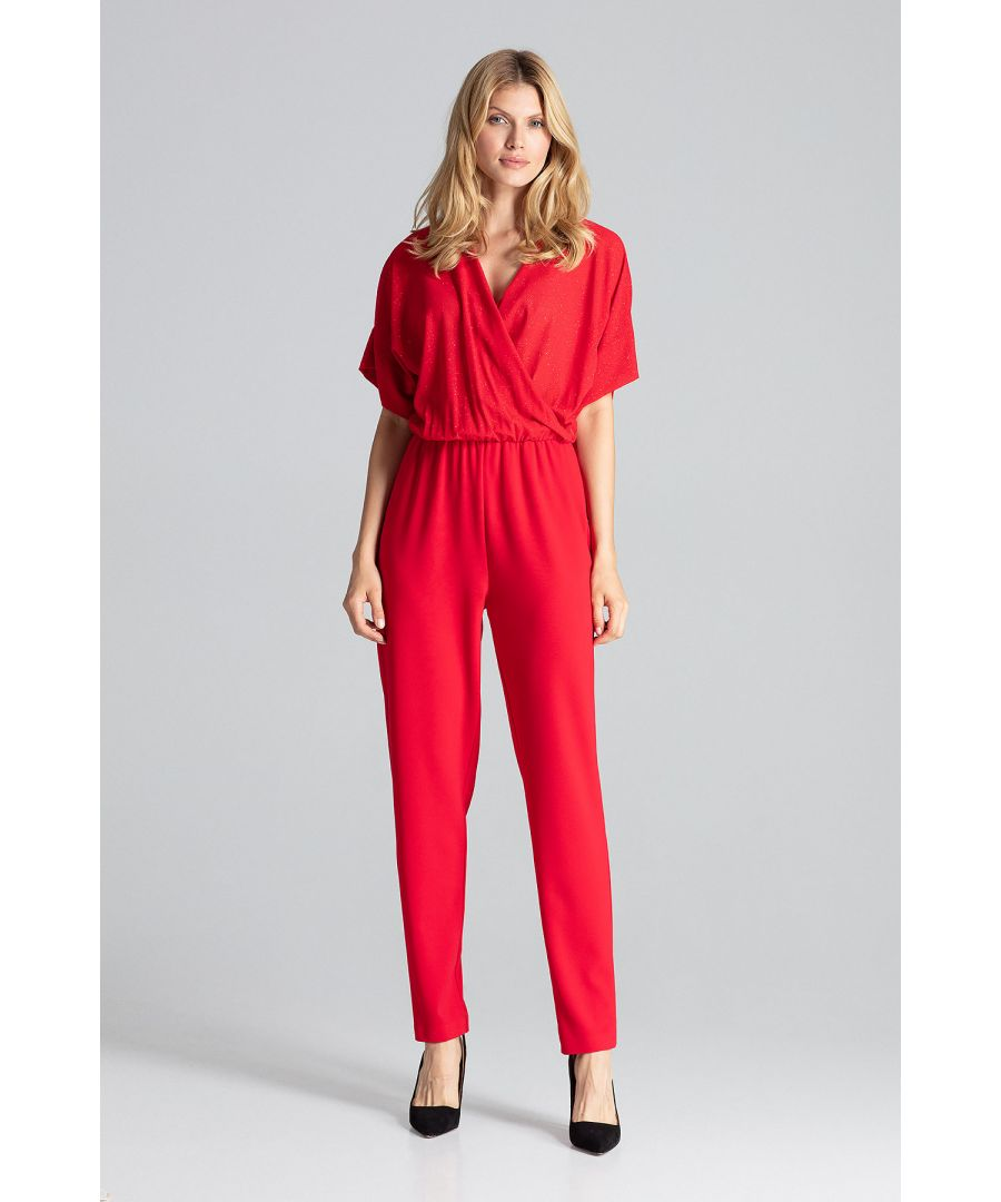 Image for Red Elegant Jumpsuit