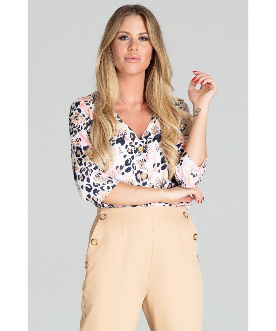 Image for Leopard Print Blouse