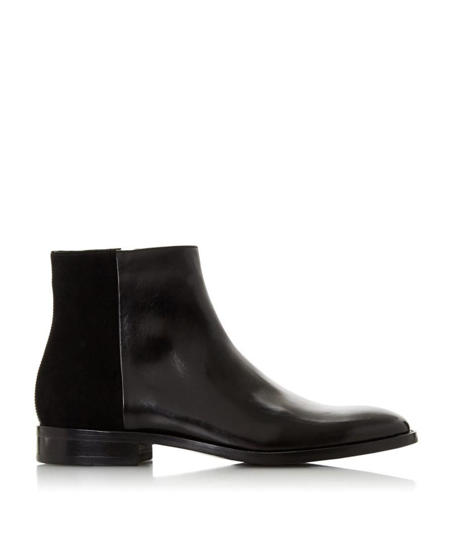 Image for Dune Mens MACAU Mixed Panel Upper Boots