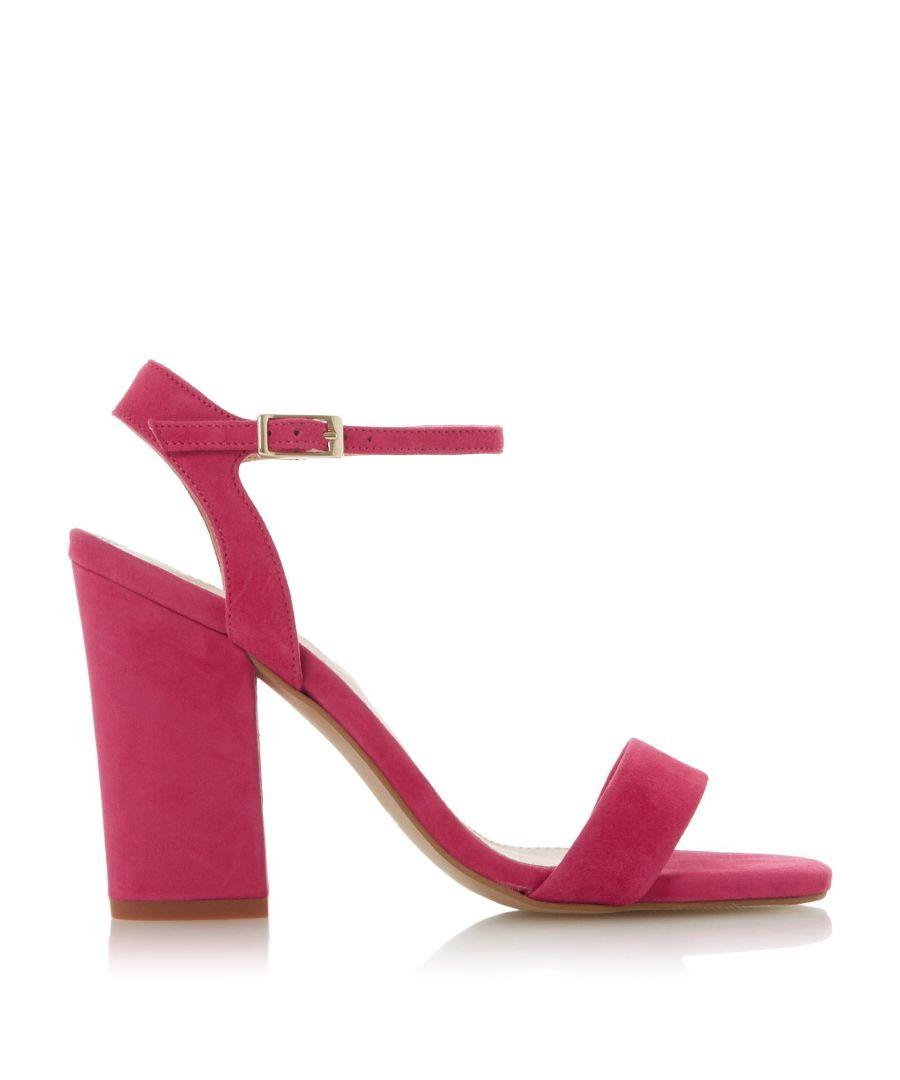 Image for Dune Ladies MADIERA Two Part Block Heel Sandal