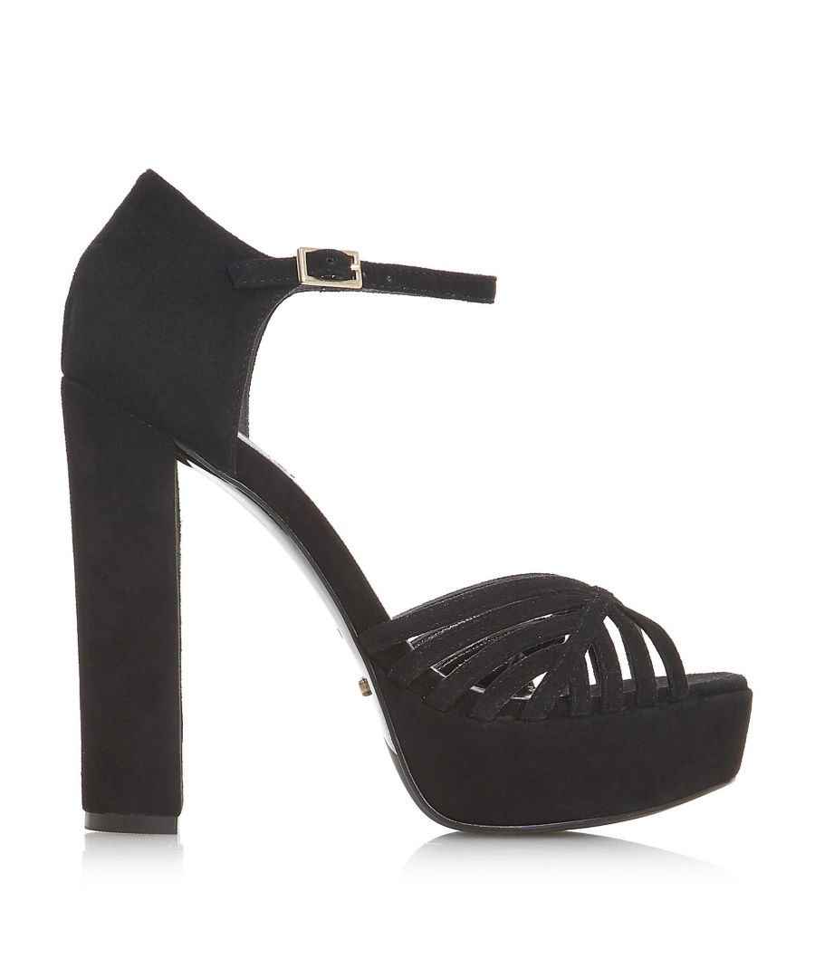 Image for Dune Ladies MADISONN Platform Heel Cage Sandal