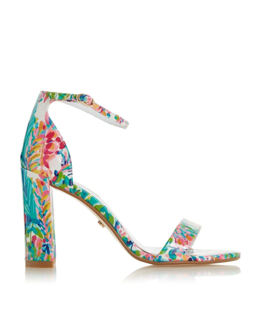 Image for Dune Ladies MAGNOLIA JL Multi Print High Sandals