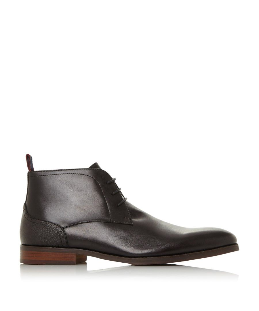 Image for Dune Mens MAIDENN Lace Up Chukka Boots