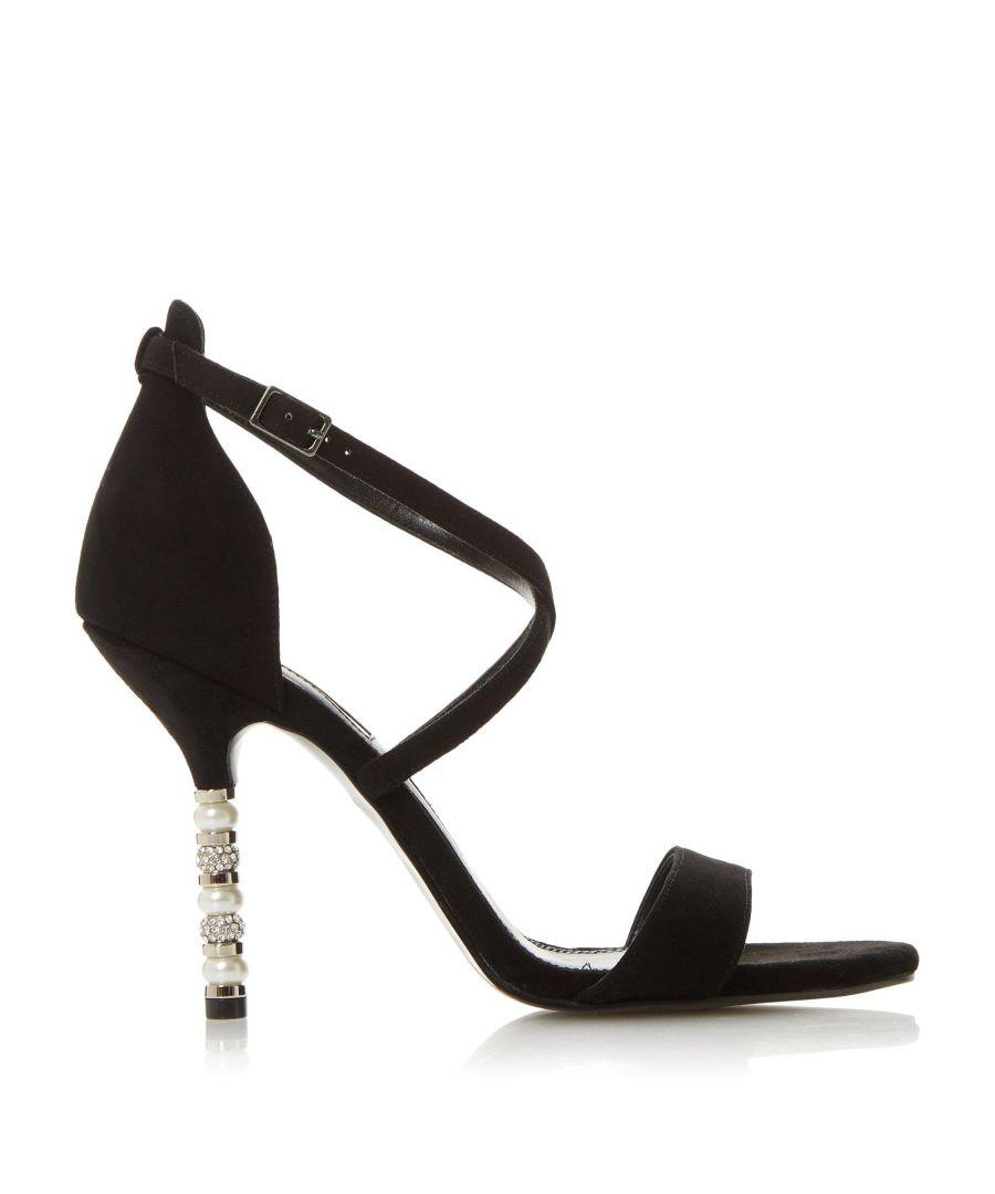 Image for Dune Ladies MALIBU Crystal Embellished High Heel Sandal