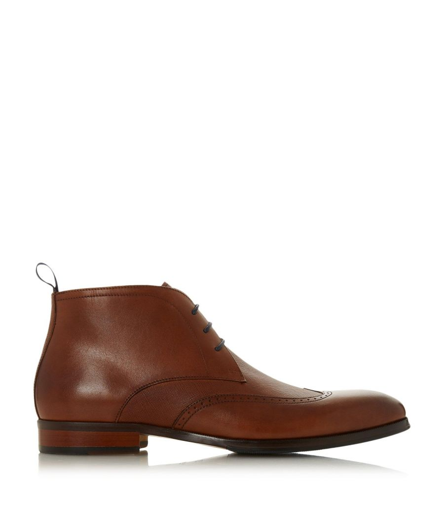 Image for Dune Mens MALONE Round Toe Chukka Boots