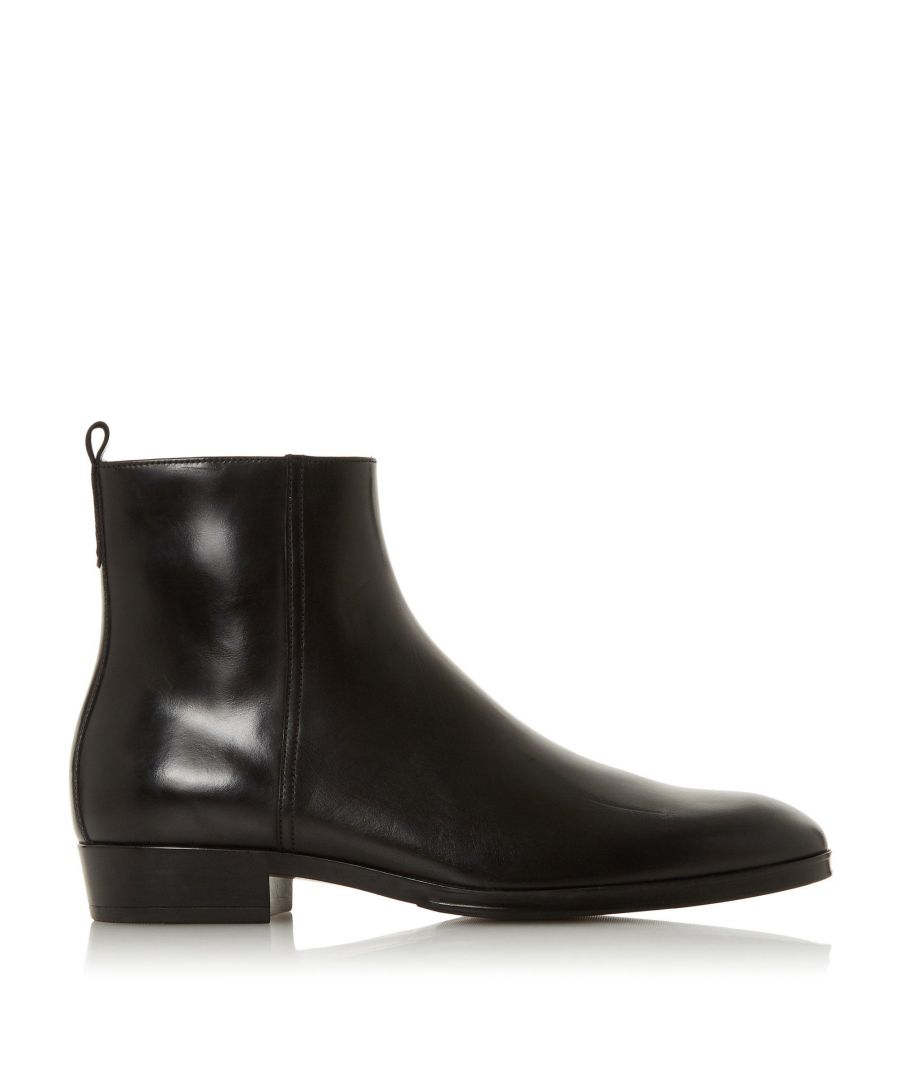 Image for Dune Mens MANTA Side Zip Western Boots