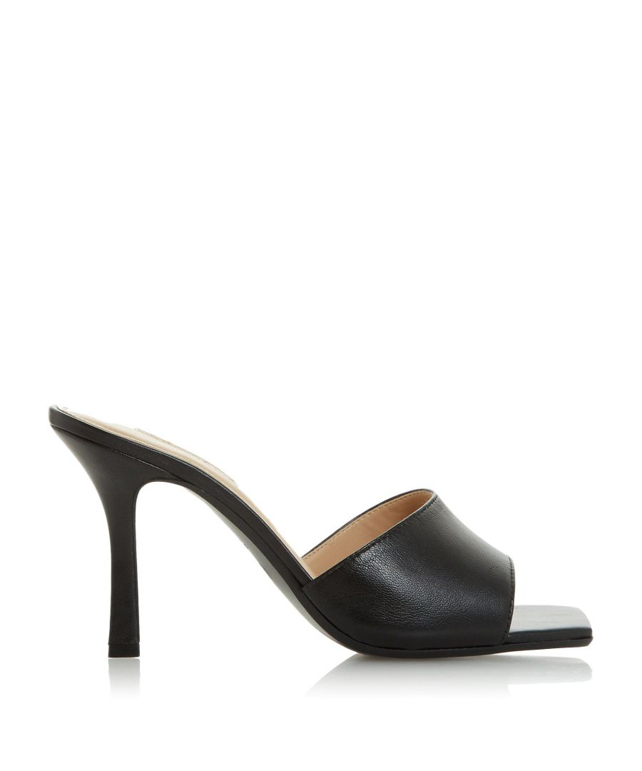 Image for Dune Ladies MANTRA Square Toe Heeled Mule Sandals