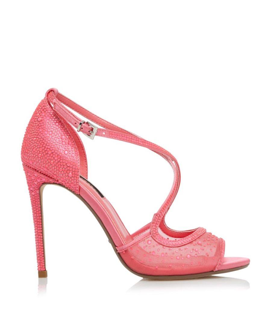 Image for Dune Ladies MARHKLES Crystal Embellished Cross Strap Sandals