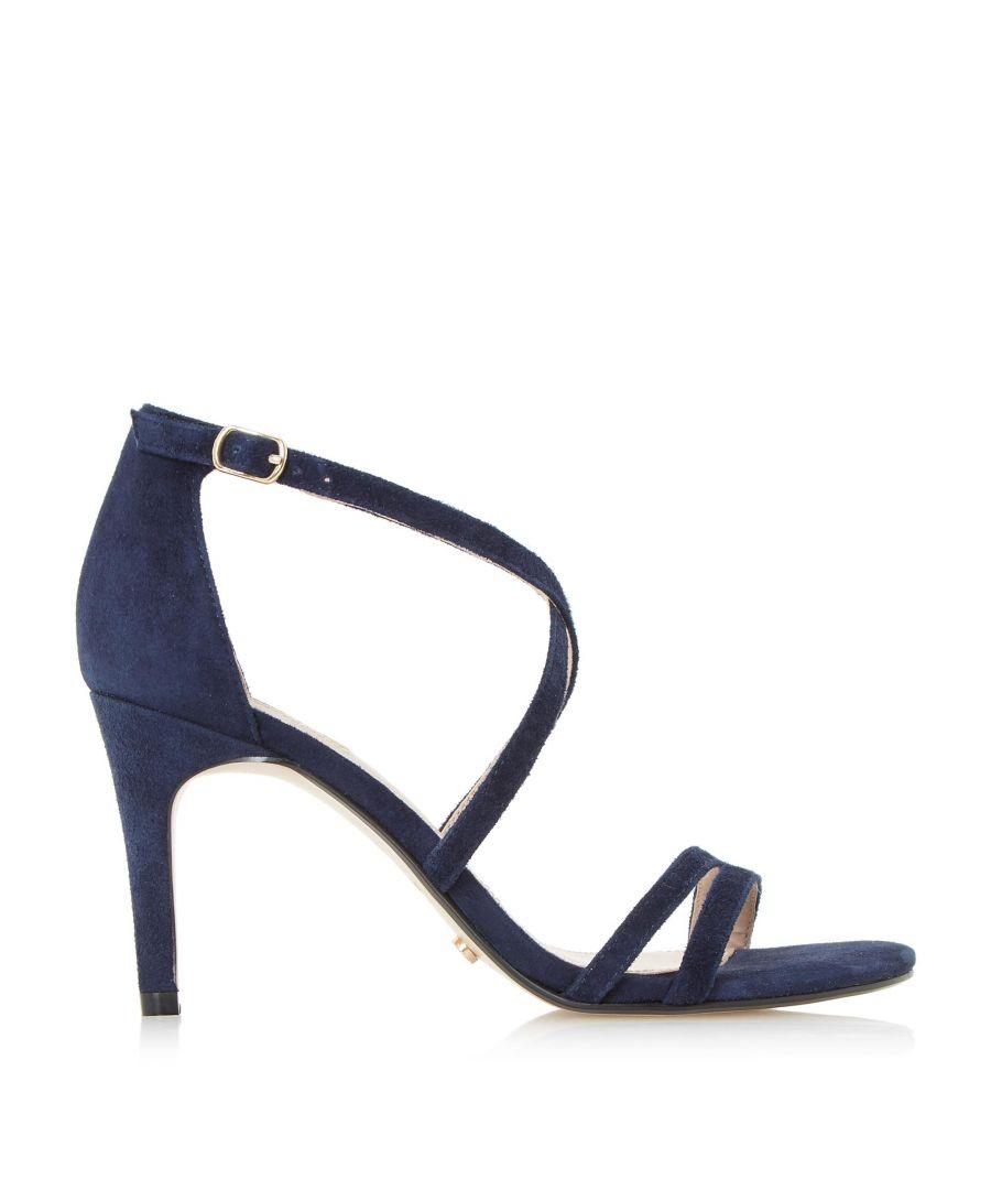 Image for Dune Ladies MARIELA Cross Strap Heeled Sandals