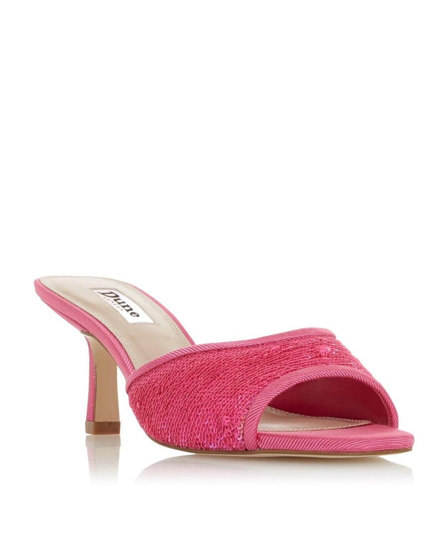 Image for Dune Ladies MARNIE Mesh Square Toe Mule