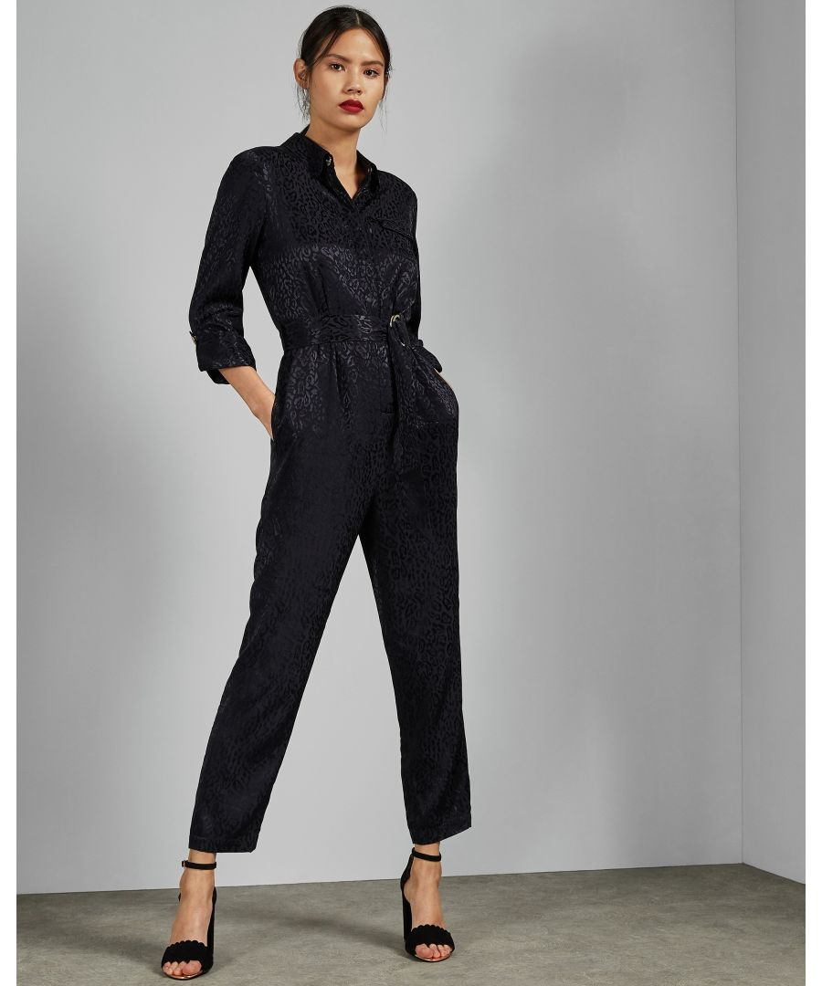 Image for Ted Baker Marryan Utility Jumpsuit, Dark Blue