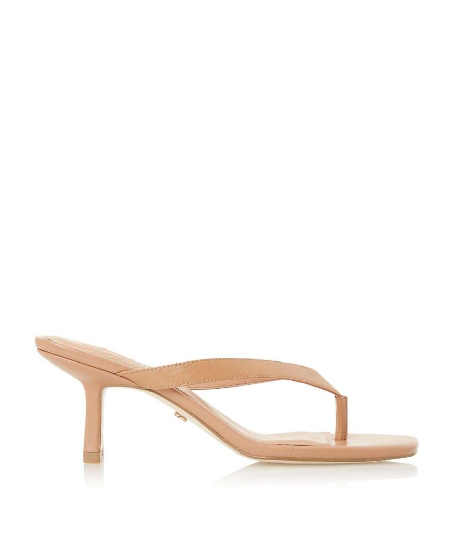 Image for Dune Ladies MARSA Toe Post Heeled Sandals