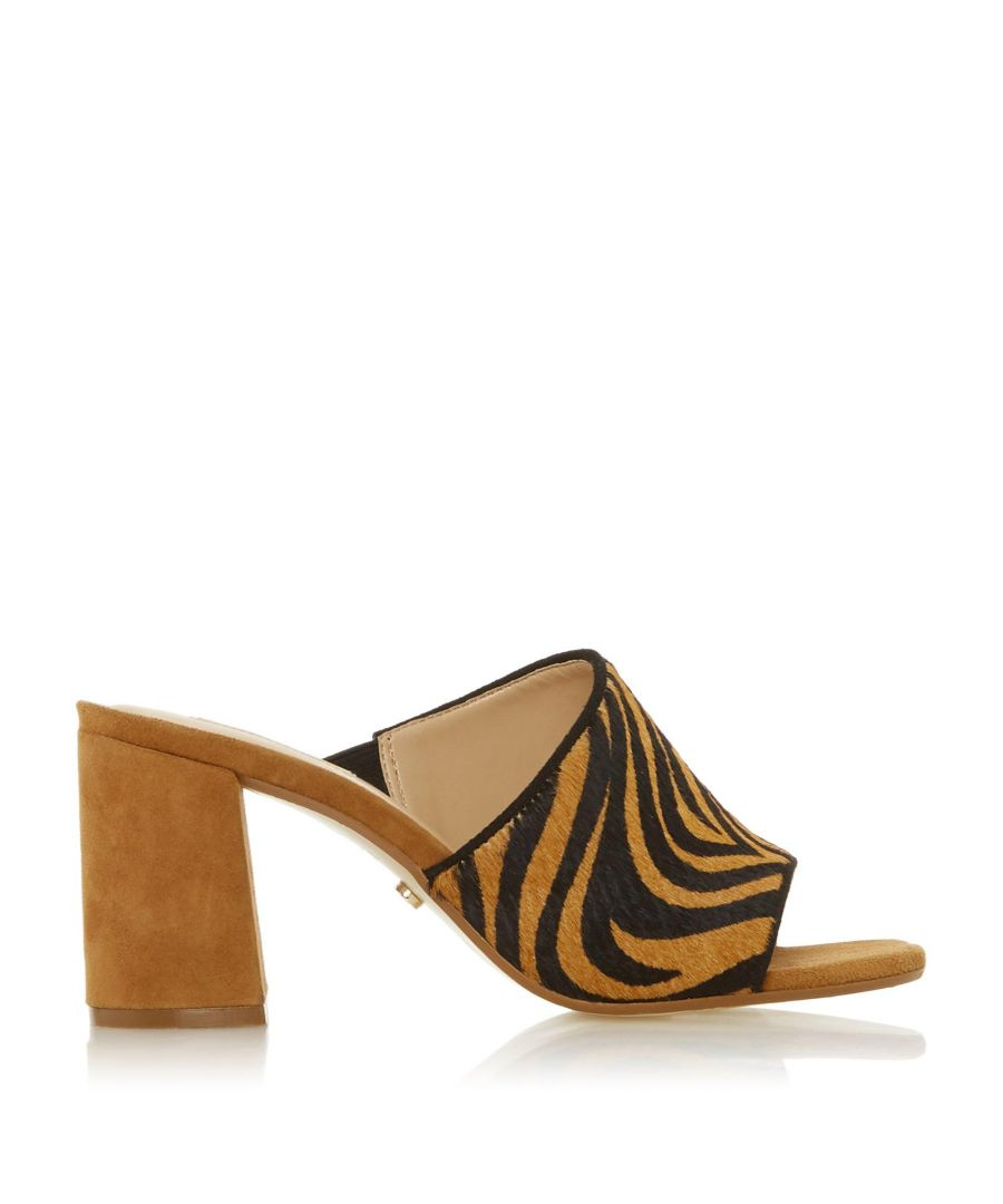 Image for Dune Ladies MARSAYE Asymmetric Block Heel Mule