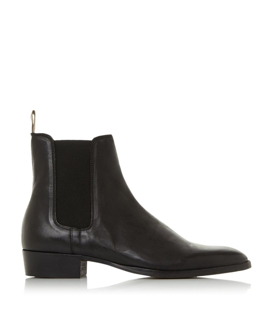 Image for Bertie Mens MARSHALL Low Block Heel Western Boots