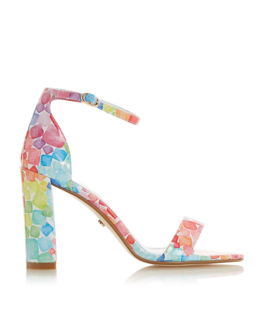 Image for Dune Ladies MARSHMALLOW Sugarcube Print Sandals