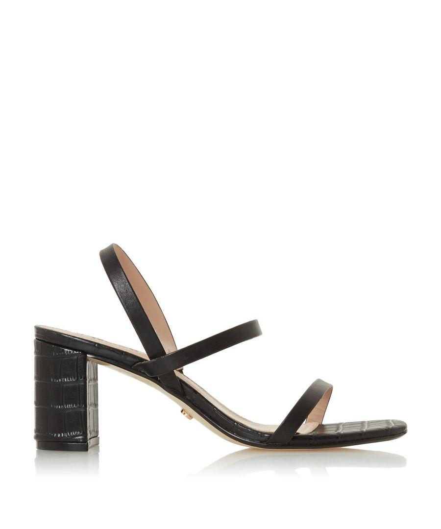 Image for Dune Ladies MARTA Triple Strap Sandals