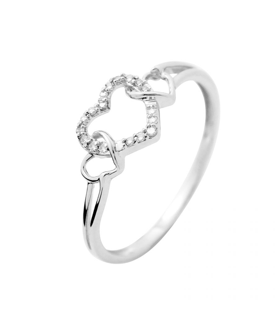 Image for DIADEMA - Ring - Prestige Jewelery - Heart - White Gold