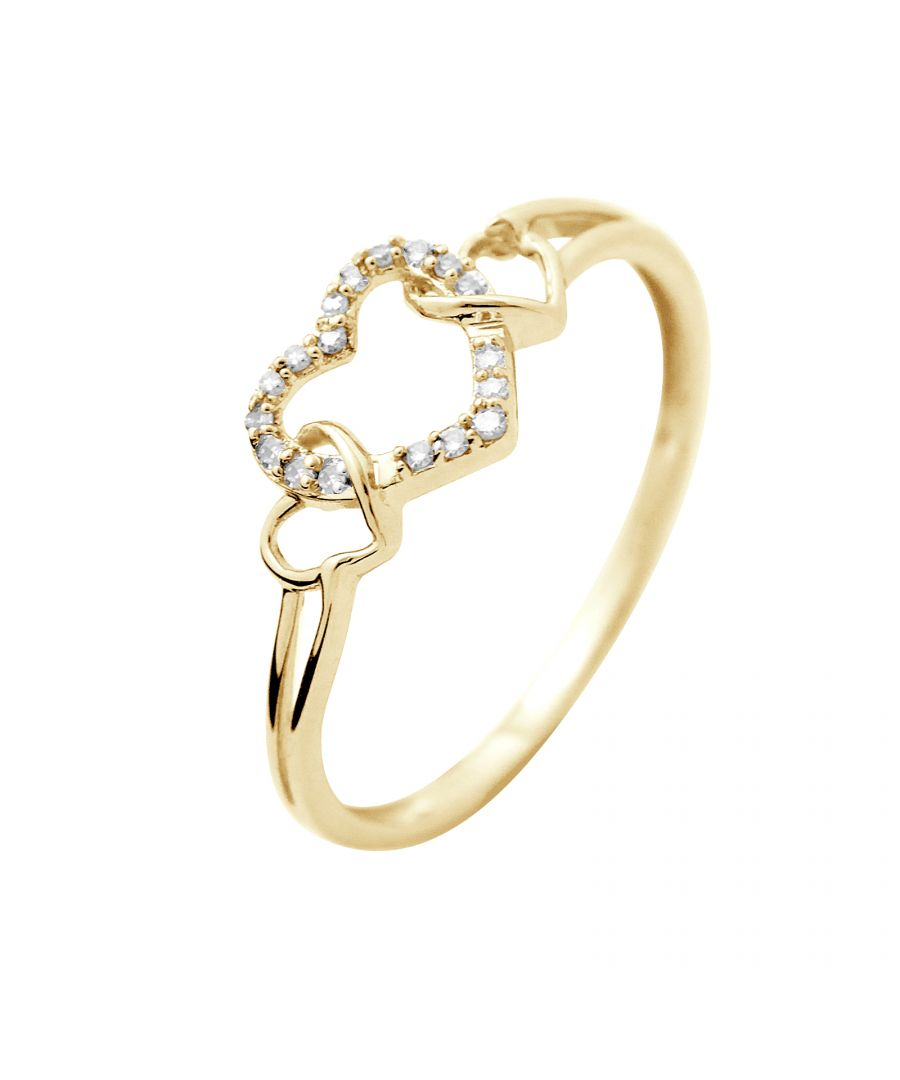 Image for DIADEMA - Ring - Prestige Jewelery - Heart - Yellow Gold