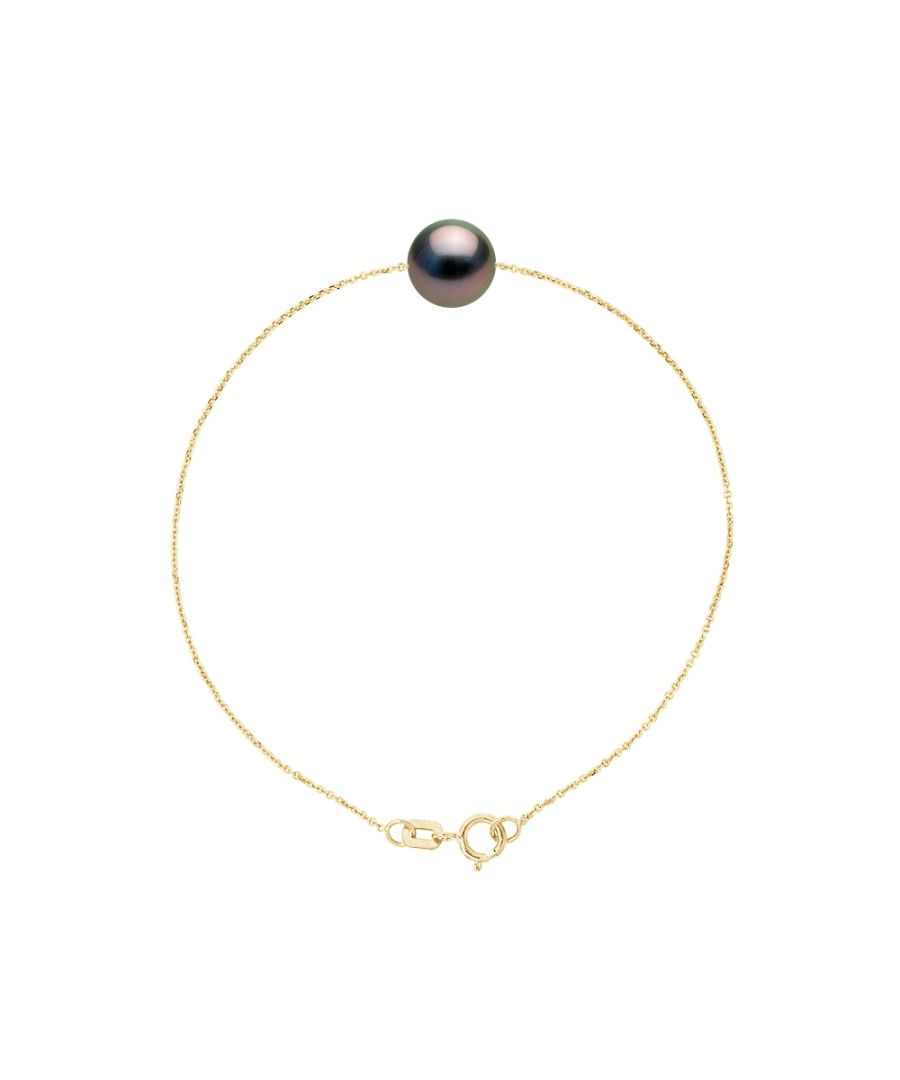 Image for DIADEMA - Bracelet - Tahitian Pearl - Yellow Gold