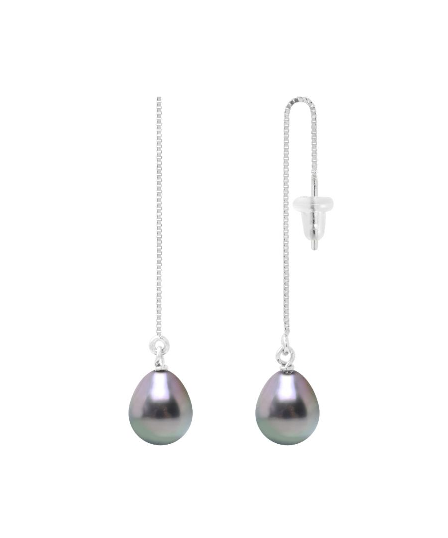 Image for DIADEMA - Earrings - Pending - Real Tahitian Pearls - White Gold