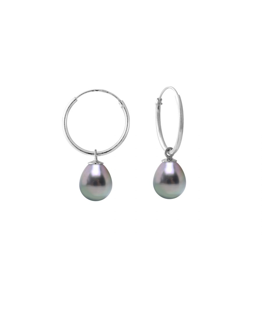 Image for DIADEMA - Earrings - White Gold and Real Tahitian Pearls