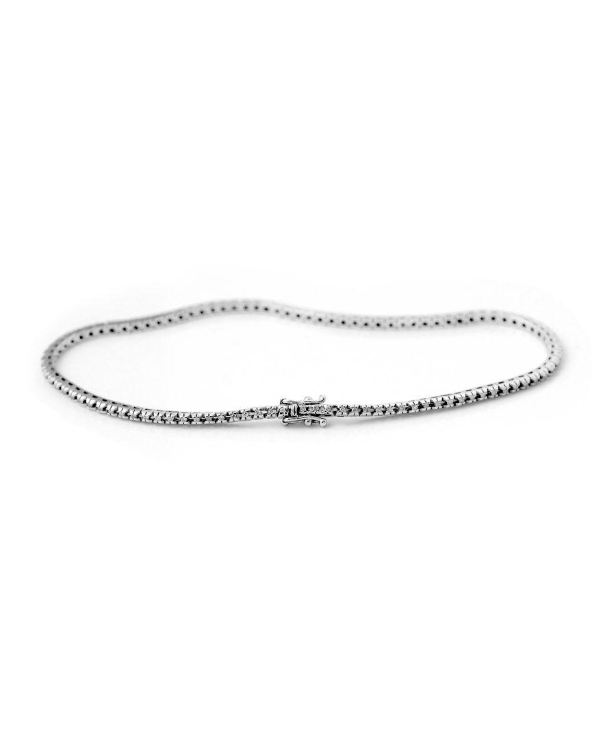 Image for DIADEMA - Bracelet - Tennis - Prestige Jewelery - White Gold