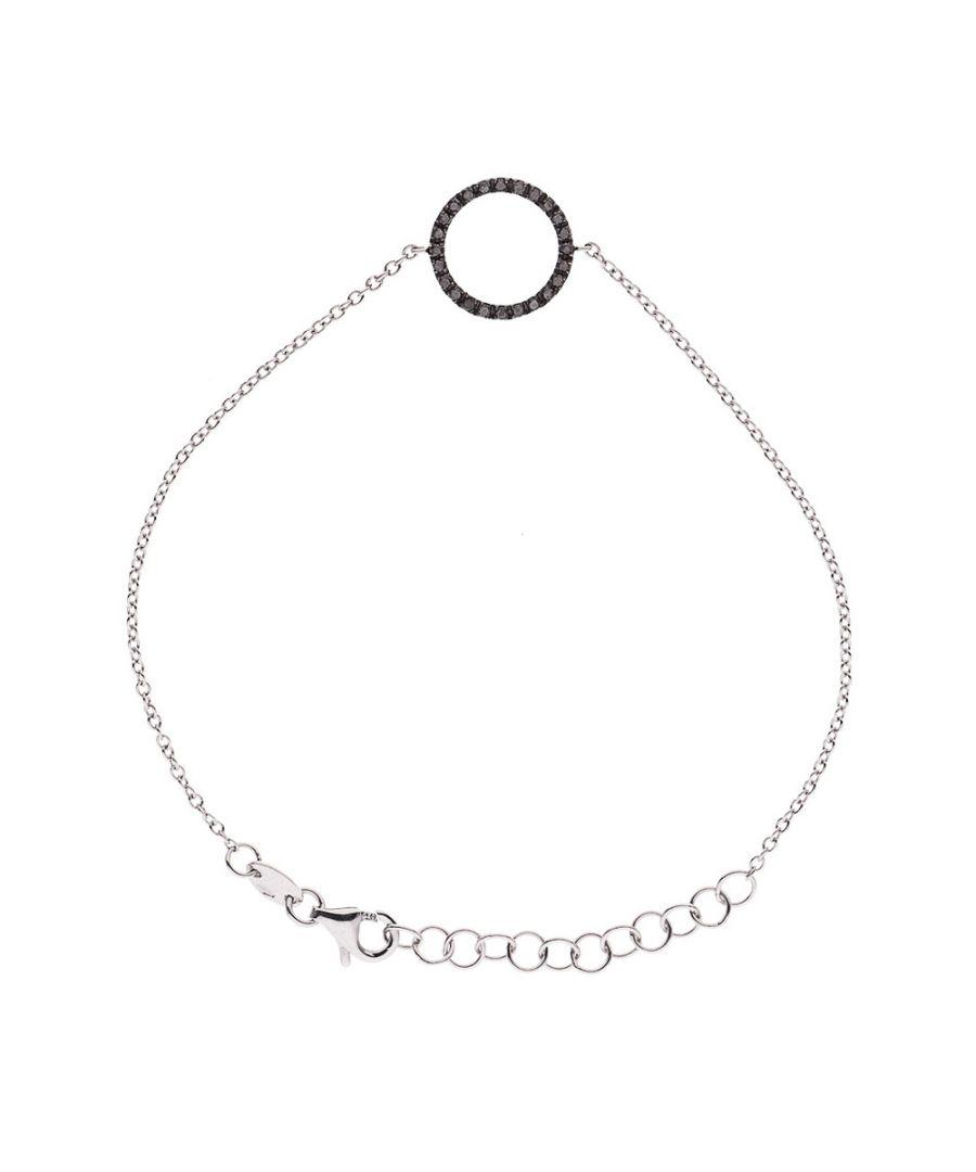 Image for DIADEMA - Bracelet - White Gold - Diamonds - Black