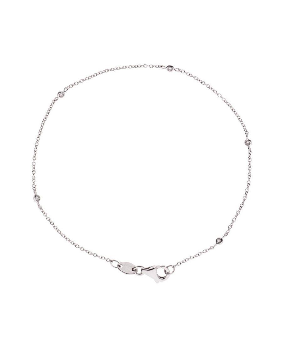 Image for DIADEMA - Bracelet - White Gold - 5 Diamonds - White