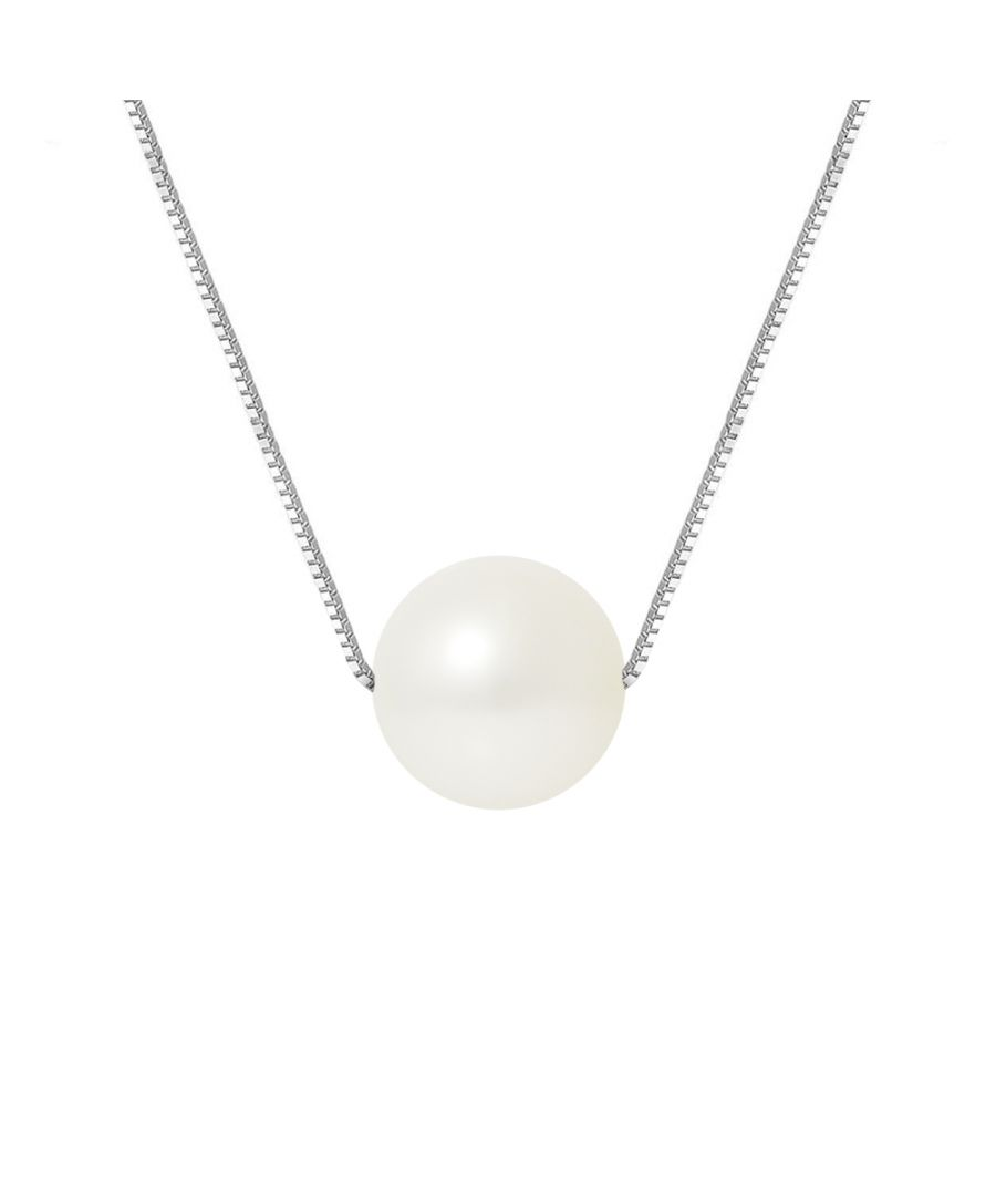 Image for DIADEMA - Necklace - Real Freshwater Pearls in White Gold