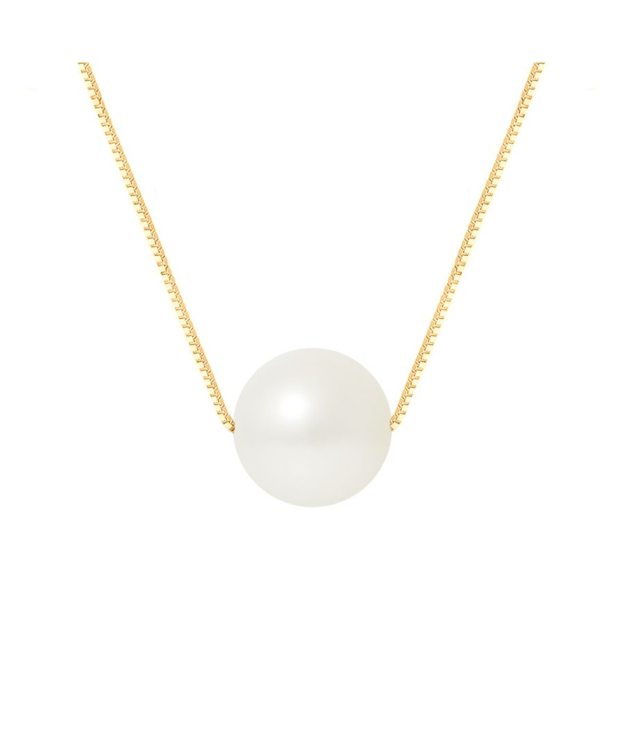 Image for DIADEMA - Necklace - Real Freshwater Pearls in Yellow Gold