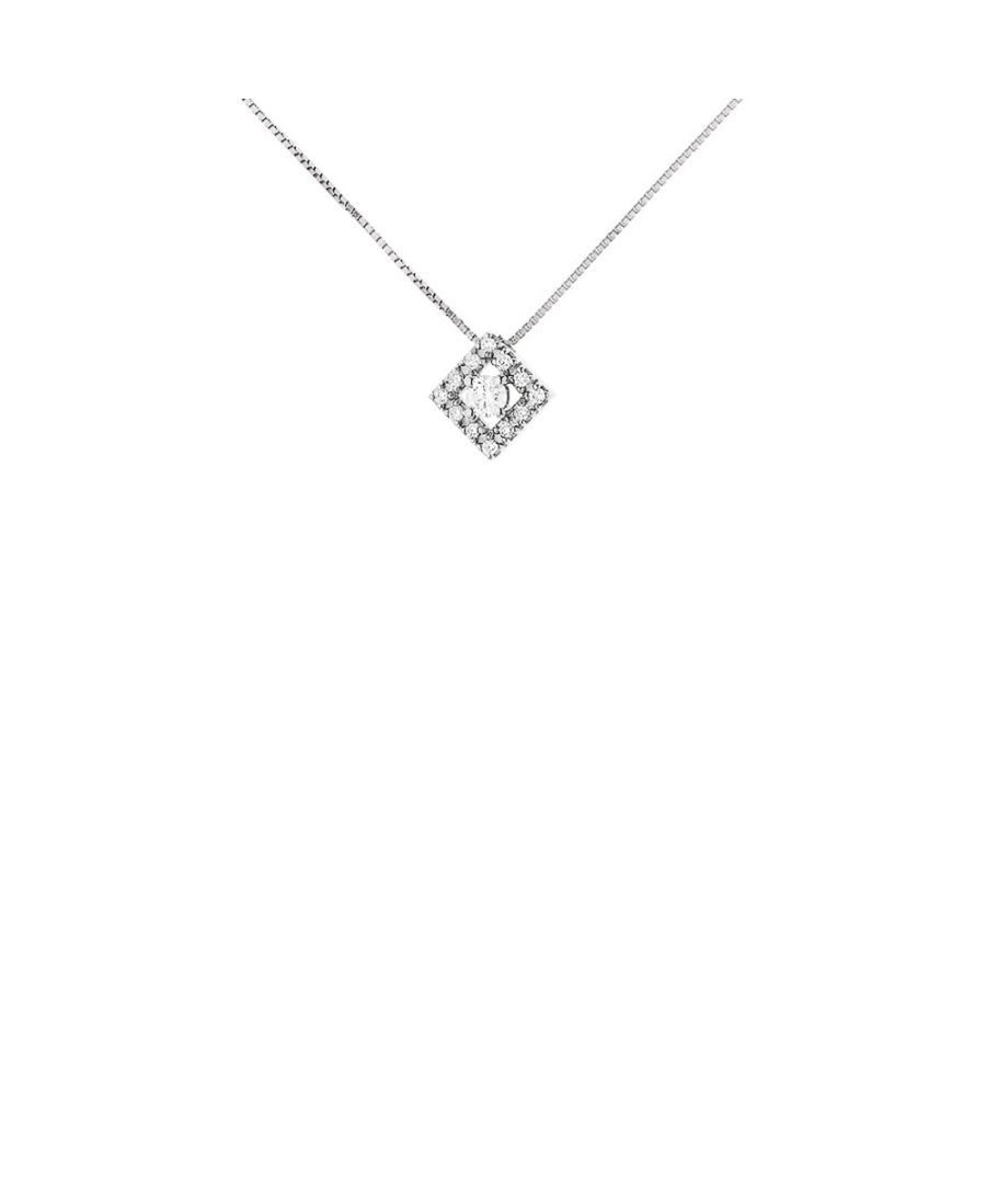 Image for DIADEMA - Necklace with Diamonds - White Gold