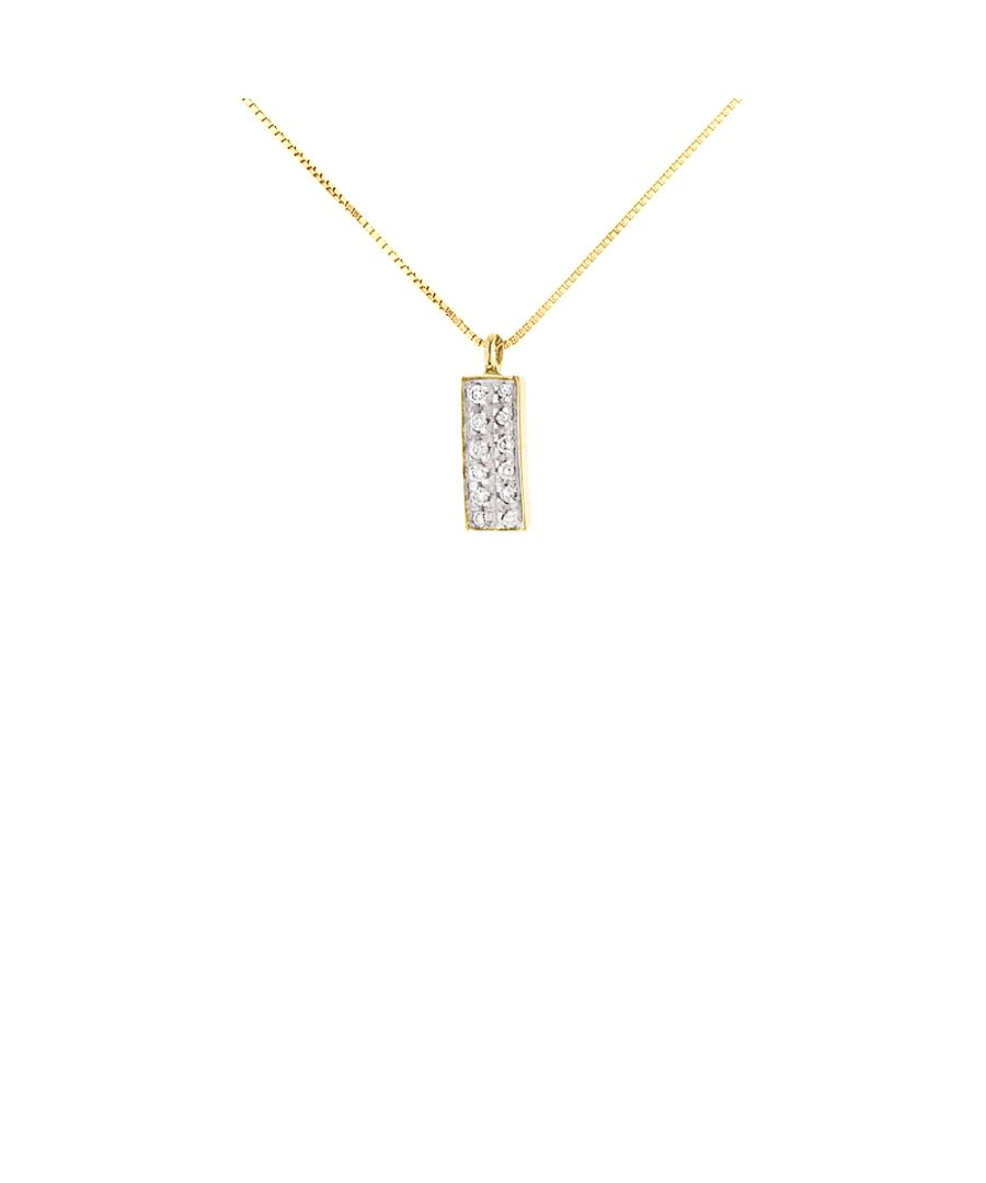 Image for DIADEMA - Necklace with Diamonds - Yellow Gold