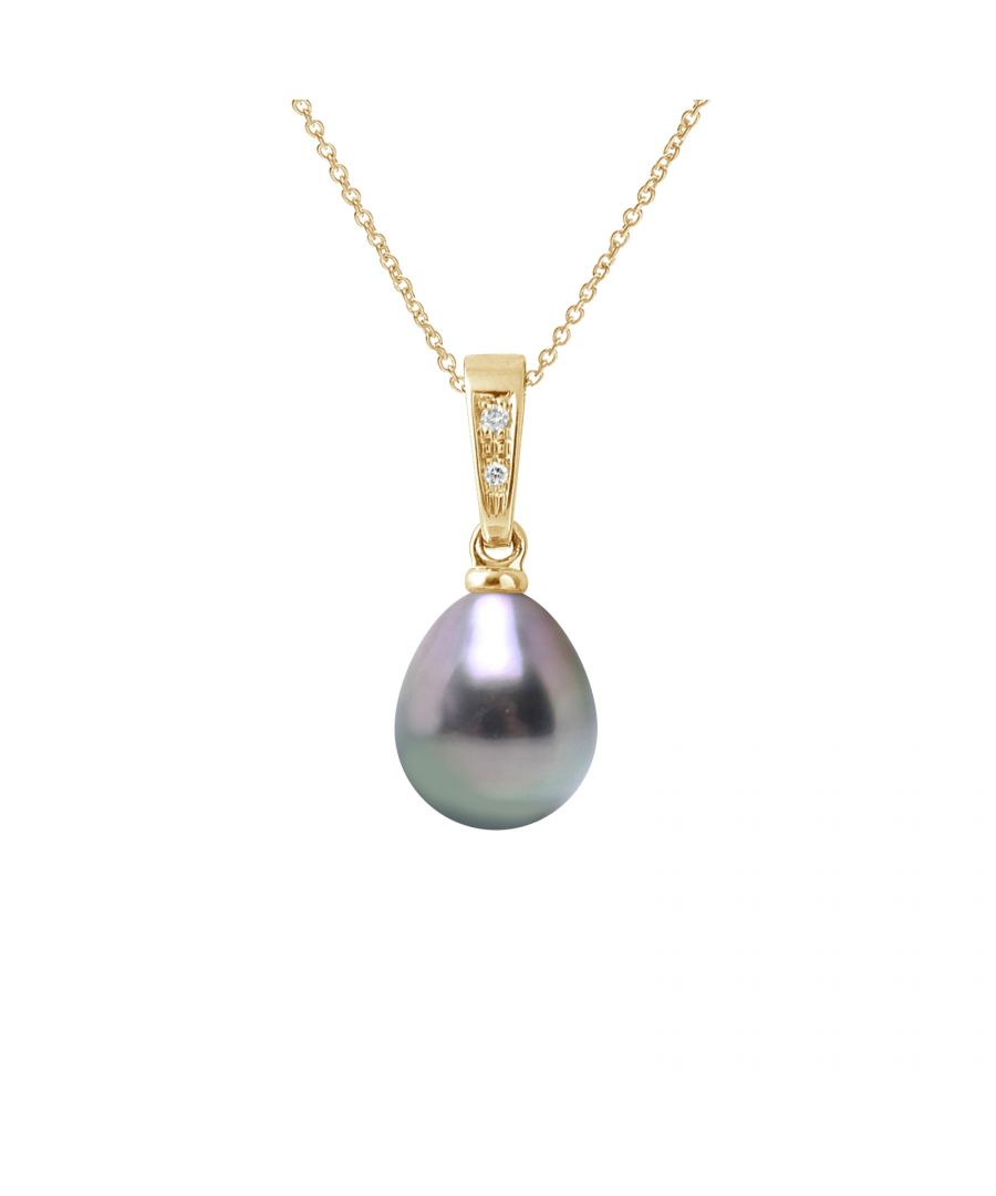 Image for DIADEMA - Pendant - Diamonds - Tahitian Pearl - Yellow Gold
