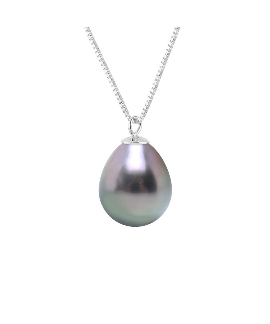 Image for DIADEMA - Necklace - Tahitian Pearl - in White Gold