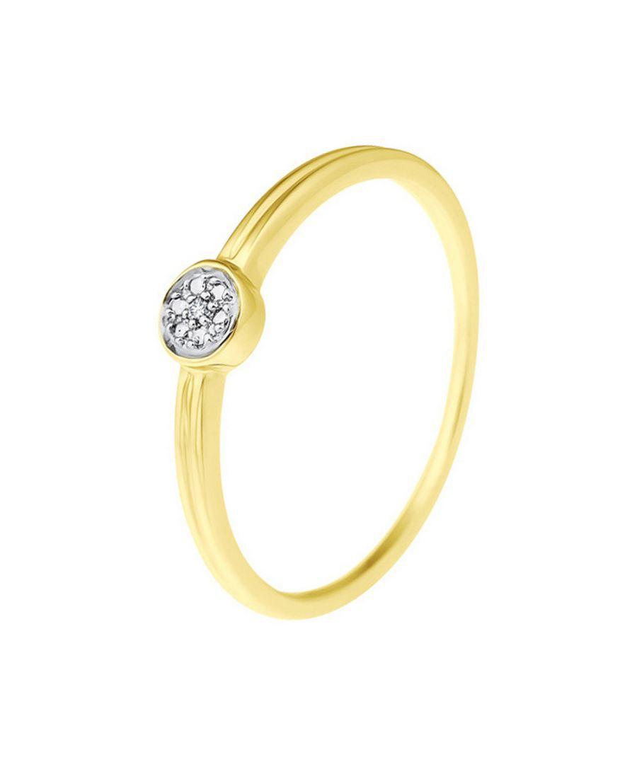 Image for DIADEMA - Ring - Diamonds - Yellow Gold