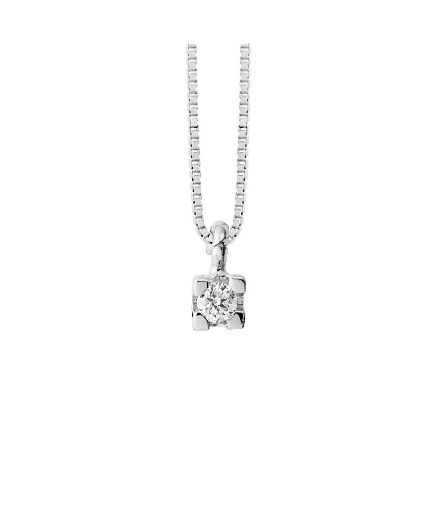 Image for DIADEMA - Necklace - Venetian Chain in Silver - Diamond