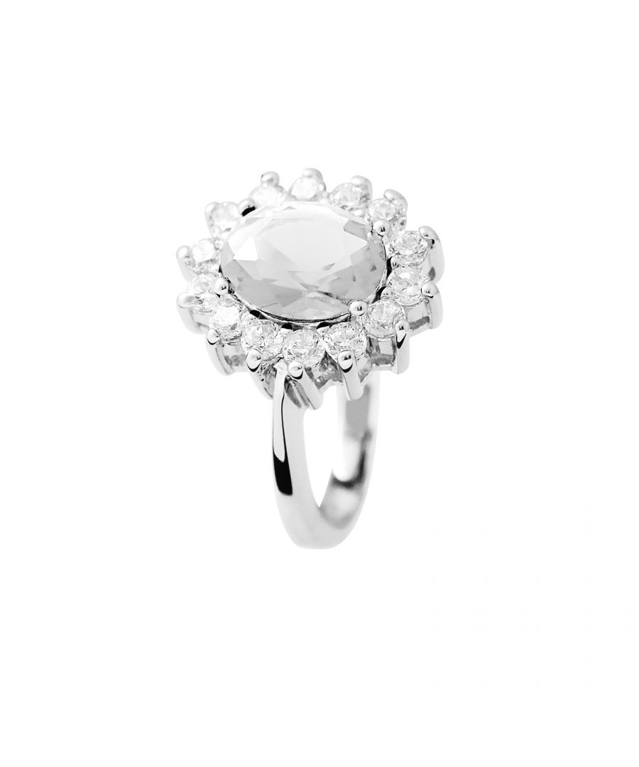 Image for DIADEMA -  Ring - Crystal - Pure White Collection