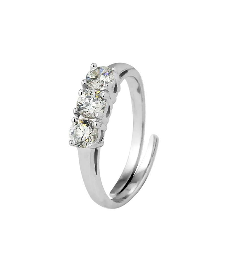 Image for DIADEMA - Trilogy Ring - White - Sweet Dreams Collection