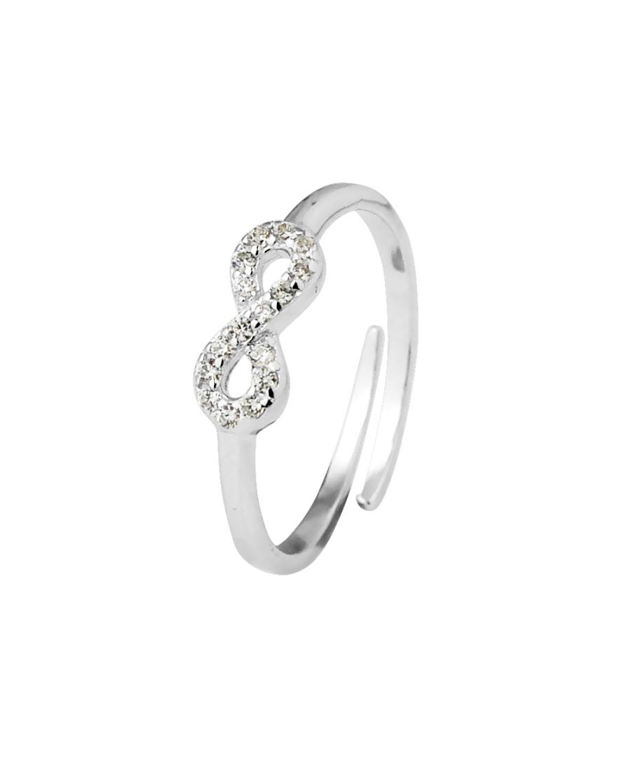 Image for DIADEMA - Ring Infini - White - Black Night Collection