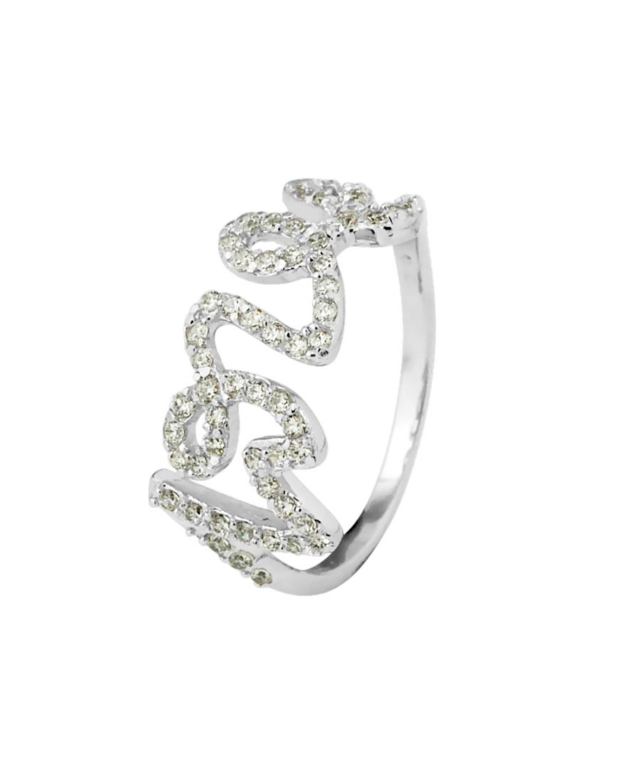 Image for DIADEMA - Ring Love - Black night Collection