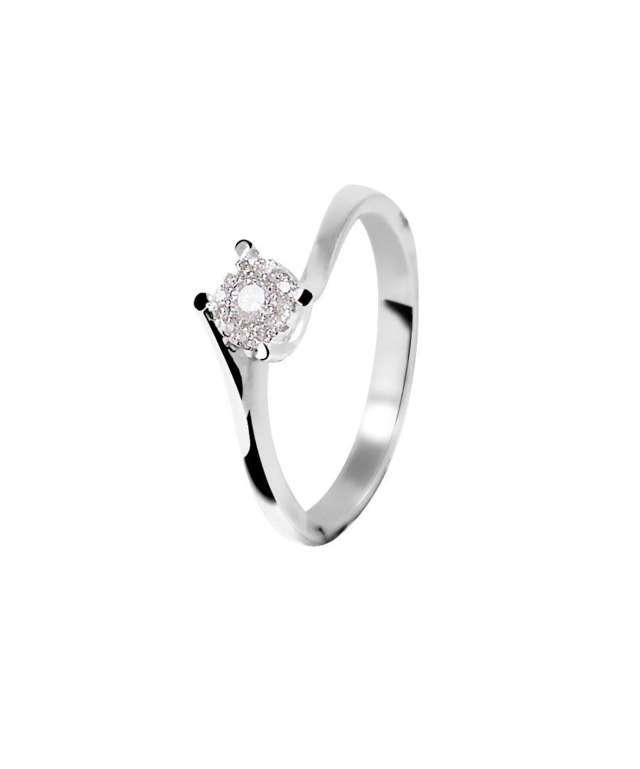 Image for DIADEMA - Ring - Diamond - White Gold