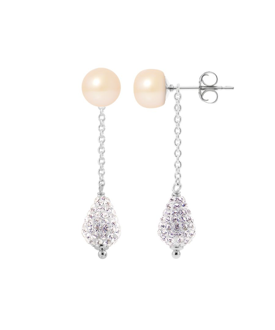 Image for DIADEMA - Earrings - Collection Crystal Pearl