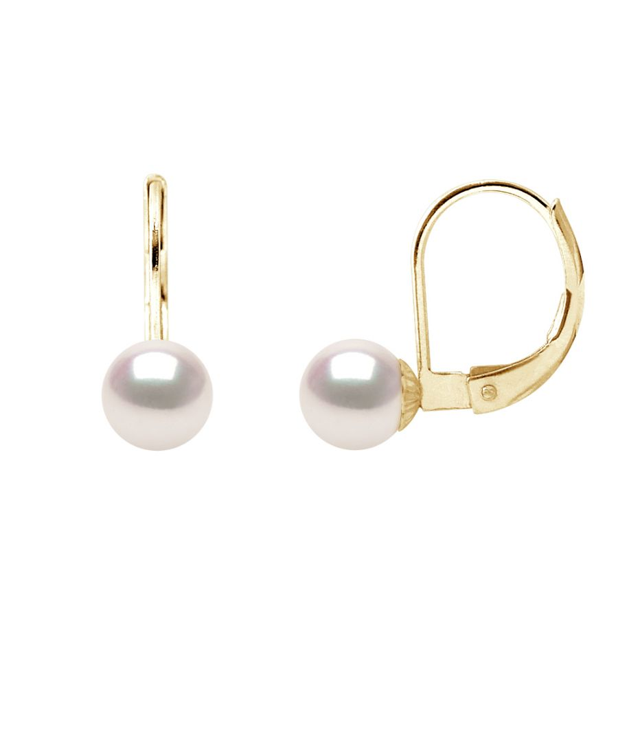 Image for DIADEMA - Earrings - True Japanese Akoya Cultured Pearl - Quality AA+