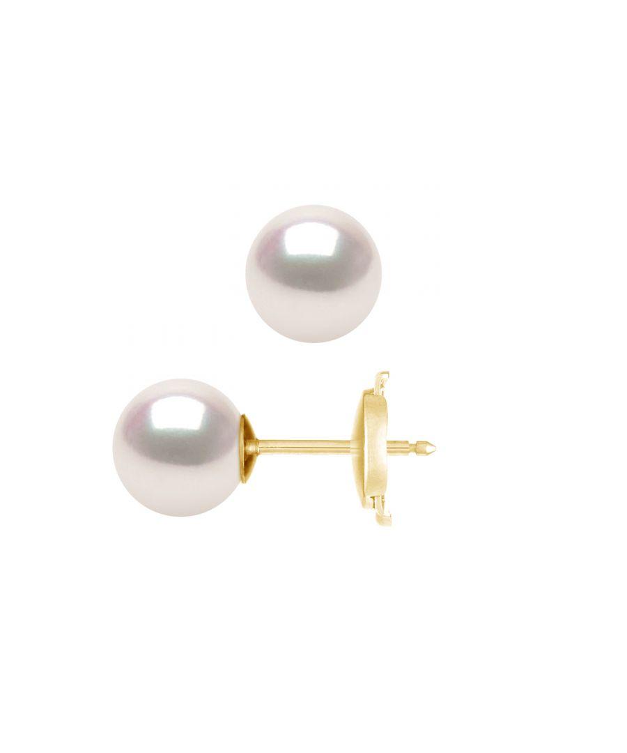 Image for DIADEMA - Earrings - True Japanese Akoya Cultured Pearl - Quality AA+